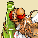 Drunk Drosophila
